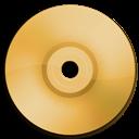 Cd, Dvd, Orange Icon