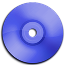 Blue, Cd, Dark, Dvd Icon