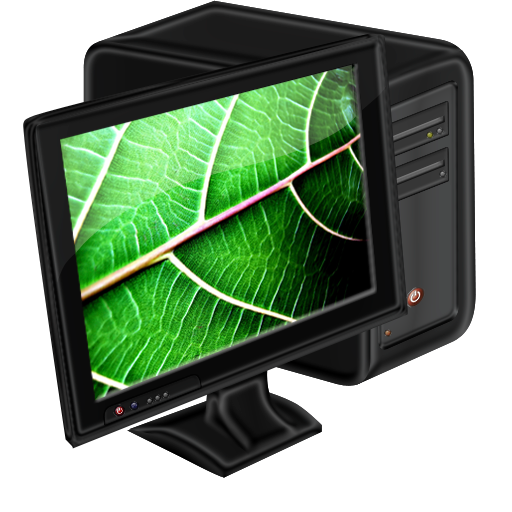 Computer, Leaf, My Icon