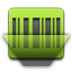 Barcode, Green Icon