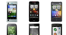 Various Smartphones Icons