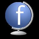 Facebook, Globe Icon