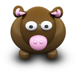 Brown Cow Icon Download Free Icons
