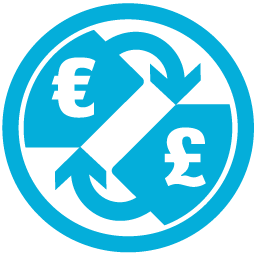 Currency, e, Mb, p Icon