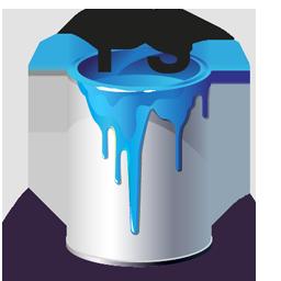 Bucket, Paint, Ps Icon