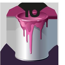 Bucket, Id, Paint Icon