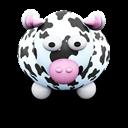 Black, Cow, Spots, White Icon