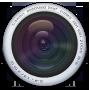 Camera, Round Icon
