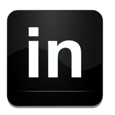 And, Black, In, Linked, White Icon