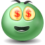 Emoticon, Money Icon