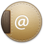 Address, Round Icon
