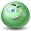 Emoticon, Wink Icon