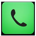 Green, Phone Icon