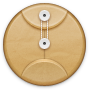 File, Round Icon