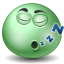 Emoticon, Sleeping Icon