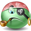 Emoticon, Pirate Icon