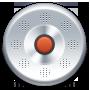 Record, Round Icon
