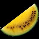Watermelon, Yellow Icon