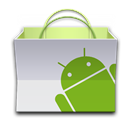 Android, Market, r Icon