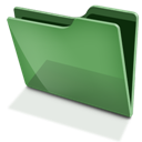 Green, Tfolder Icon