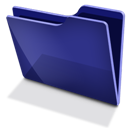 Blue, Tfolder Icon