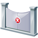 Entry, Restricted Icon