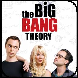 Bang, Big, The, Theory Icon