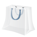 Bag, Shopping, White Icon