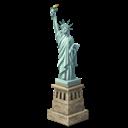 Liberty, New, York Icon