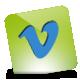 Green, Hover, Vimeo Icon