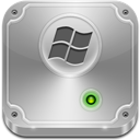 Drive, Hard, Vista Icon