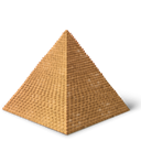 Egypt, Pyramid Icon