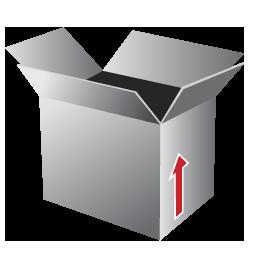 Box, Open Icon