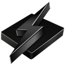 Black, Winamp Icon