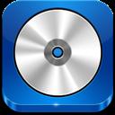 Blue, Cd, Rom Icon