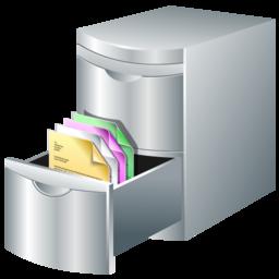 Document, Storage Icon