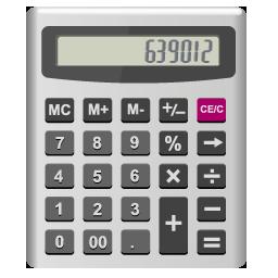 Calculator, Shopping Icon