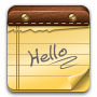 Hello, Note Icon