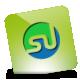 Green, Hover, Stumbleupon Icon