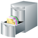 Document, Storage Icon