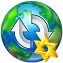 Star, Upload, World Icon