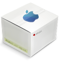Apple, Box, Clean Icon