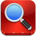 Red, Search Icon