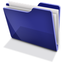 Blue, Full, Tfolder Icon