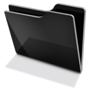 Black, Tfolder Icon