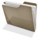 Brown, Full, Tfolder Icon