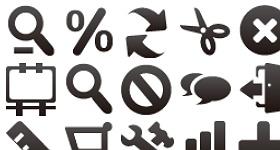 Mini Icon Set Part 1 Icons