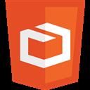 3d, Html, Logos Icon