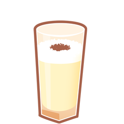 Brandy, Cocktail, Eggnog Icon