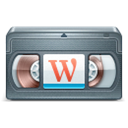 Screencasts, Wordpress Icon